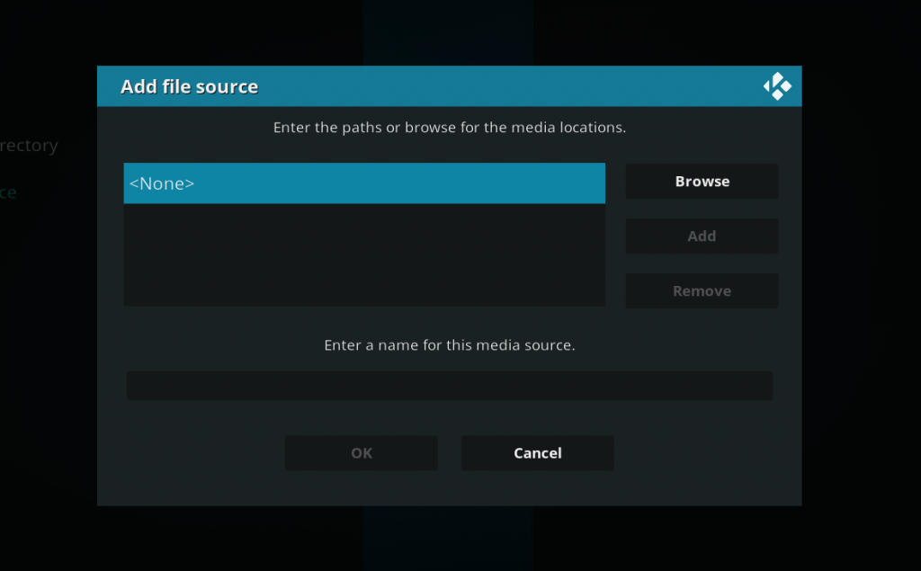04 - kodi add file source