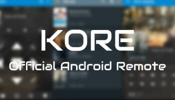 Official Kodi Remote for Android, Kore 2.1, Released