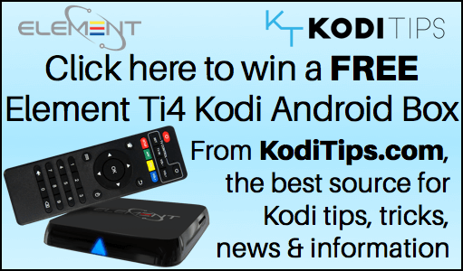Click Here to Win 1 of 3 FREE Element Ti4 Kodi Boxes!