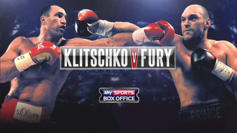 Where to Watch Klitschko Fury on Kodi; Boxing on Kodi