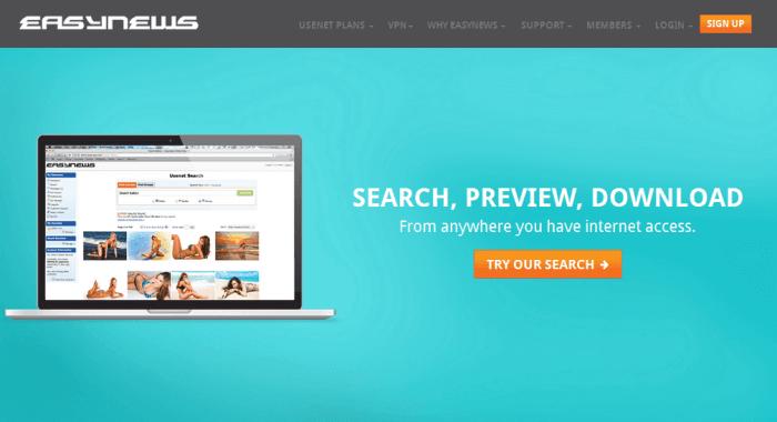 Easynews Kodi: Premium Usenet Provider