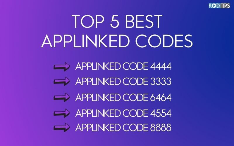 List of Top 5 Best AppLinked Codes
