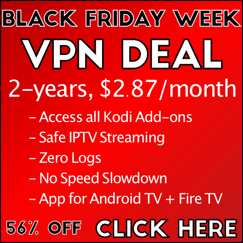 2017 Black Friday VPN Deal; Christmas VPN Sales