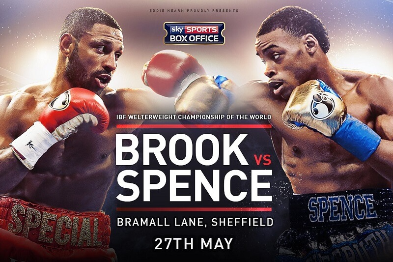 Brook Spence Kodi Streams; Card, Start Time, Info