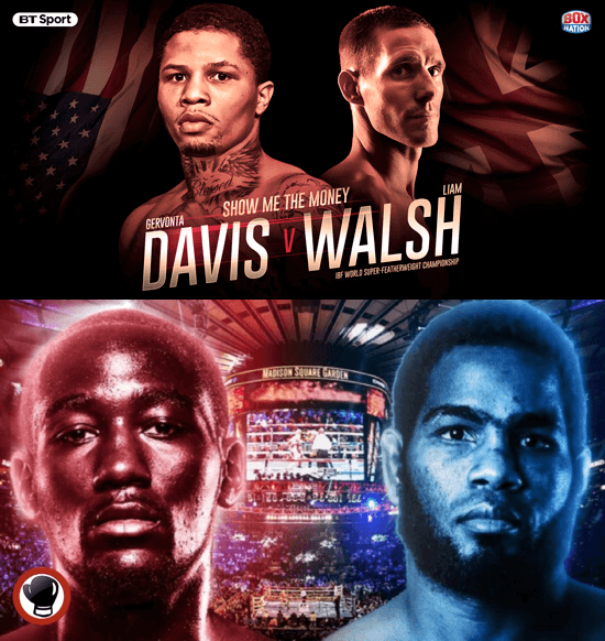 Davis Walsh Kodi; Crawford Diaz Kodi PPV Boxing Streams