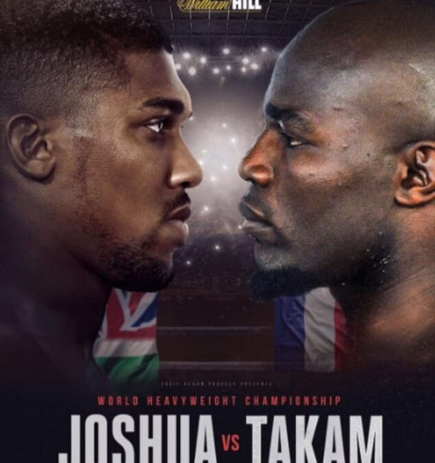 Joshua Takam Kodi Information guide: Anthony Joshua vs Carlos Takam