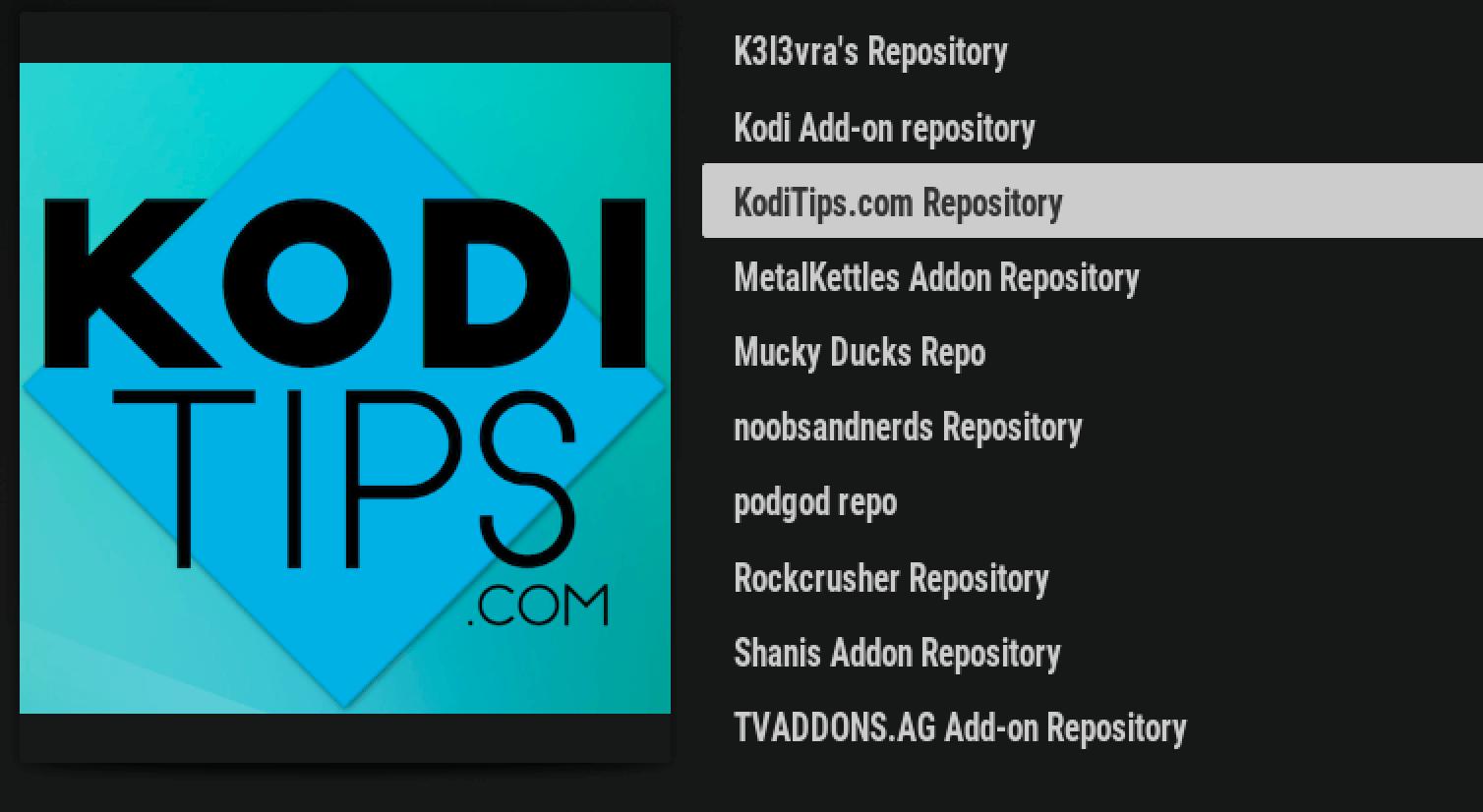 kodi addons taken offline