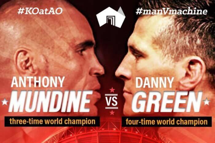 Mundine Green Kodi Boxing PPV Streams Guide: Anthony Mundine vs Danny Green