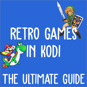 retro games in kodi