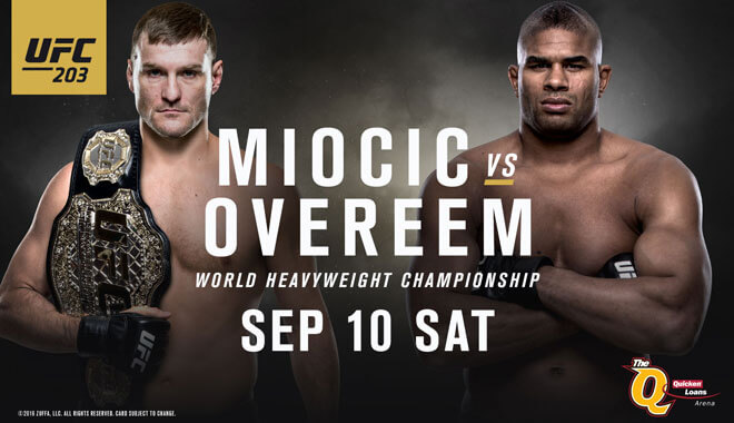 Best UFC 203 Kodi Streams Online: Miocic vs Overeem